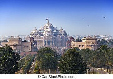 デリー, インド, 寺院, akshardham