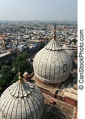 デリー, インド, jama, masjid