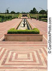 デリー, raj, ghat, インド