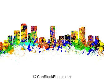 デンバー,  colorado, アメリカ