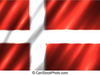 デンマーク, 国旗, 背景