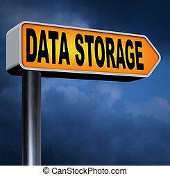 データ記憶