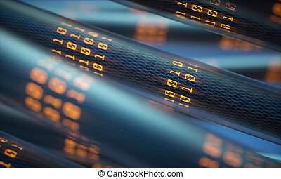 データ転送, デジタル世界