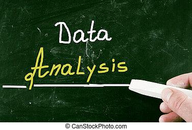 データ, 分析, 概念