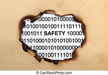データ, 安全