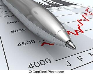 データ, 市場, 株