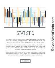 データ, 統計値, テキスト, 説明的, infographic