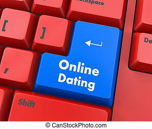 デートする, オンラインで