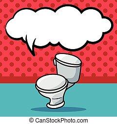 トイレ, いたずら書き