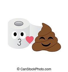 トイレ, 情報, 愛, 提示, 組織, 恋人