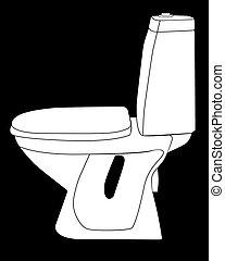 トイレ, 数字