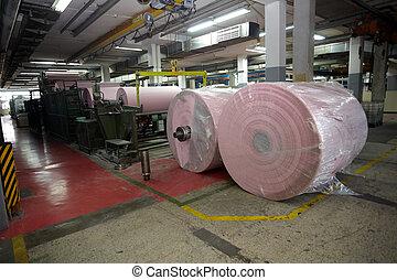トイレ, 産業, ペーパー, 組織, 製造