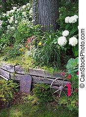 トゲ, 庭