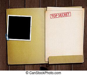 トップの秘密, folder.