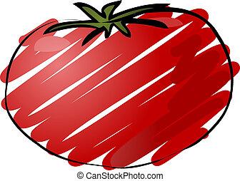 トマト, スケッチ
