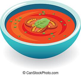 トマト スープ