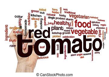 トマト, 単語, 雲, 概念