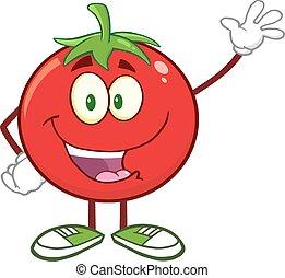 トマト, 振ること, 特徴, 幸せ