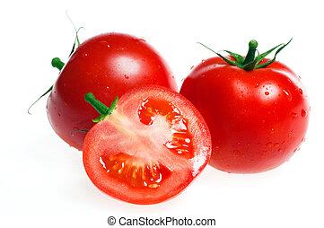 トマト, 新たに, 隔離された