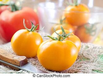 トマト, 黄色