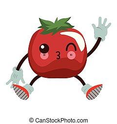 トマト, kawaii, 漫画