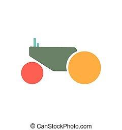 トラクター, icon.