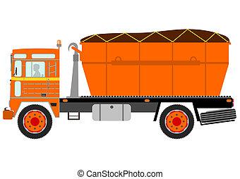 トラック, ごみ