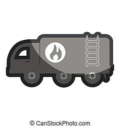 トラック, オイル タンク, アイコン
