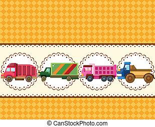 トラック, カード