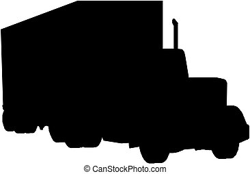 トラック, シルエット