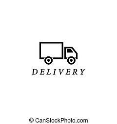 トラック, テンプレート, 出産, ロゴ