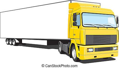 トラック, 半