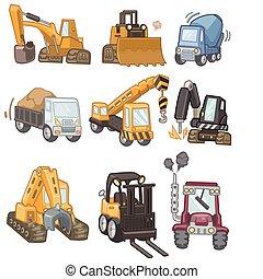 トラック, 漫画, アイコン