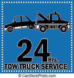 トラック, 牽引, サービス