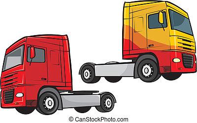 トラック, 貨物自動車