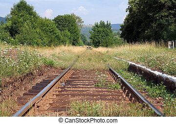 トラック, 鉄道, 古い