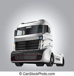 トラック, 電気である, ハイブリッド