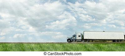 トラック, road.