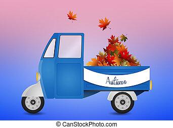 トランク, ∥で∥, 葉, ∥ために∥, 秋