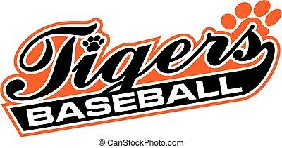 トラ, 野球