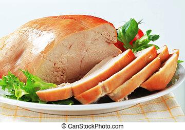 トルコ胸, 焼き肉
