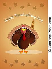 トルコ, ∥で∥, トウモロコシの穂軸, 中に, 感謝祭, 日