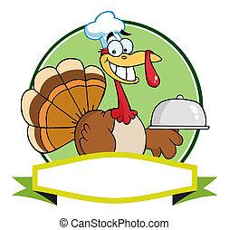 トルコ, シェフ, 感謝祭, 鳥