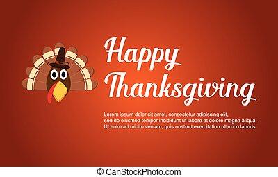 トルコ, 感謝祭, カード, 幸せ