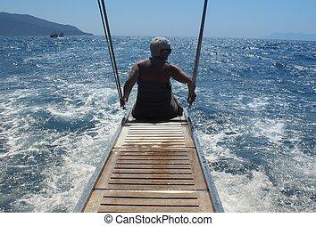 トルコ, 旅行, ボート