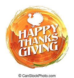 トルコ, 葉, 感謝祭, かえで, 招待, カード, 幸せ