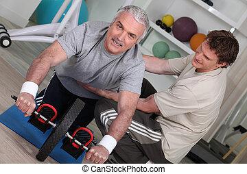トレーナー, 個人的, 人間が運動する, より古い