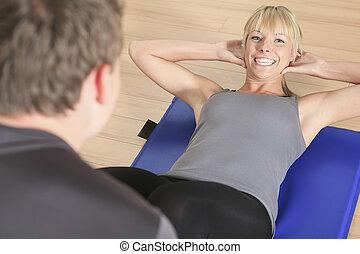 トレーナー, 女, 個人的, 恋人, 運動, 1(人・つ), コーチ, コーカサス人, 人
