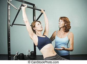 トレーナー, pilates