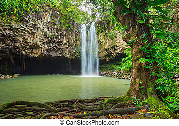 トロピカル, 滝